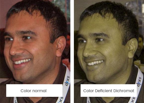 Color Deficient Effect