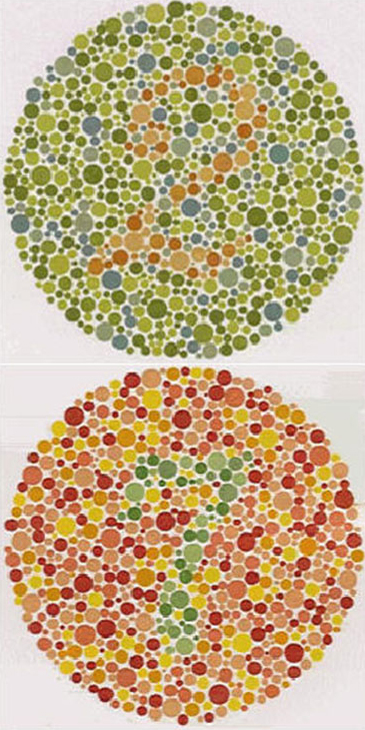 Color Vision Deficiency Examples Color Vision Testing